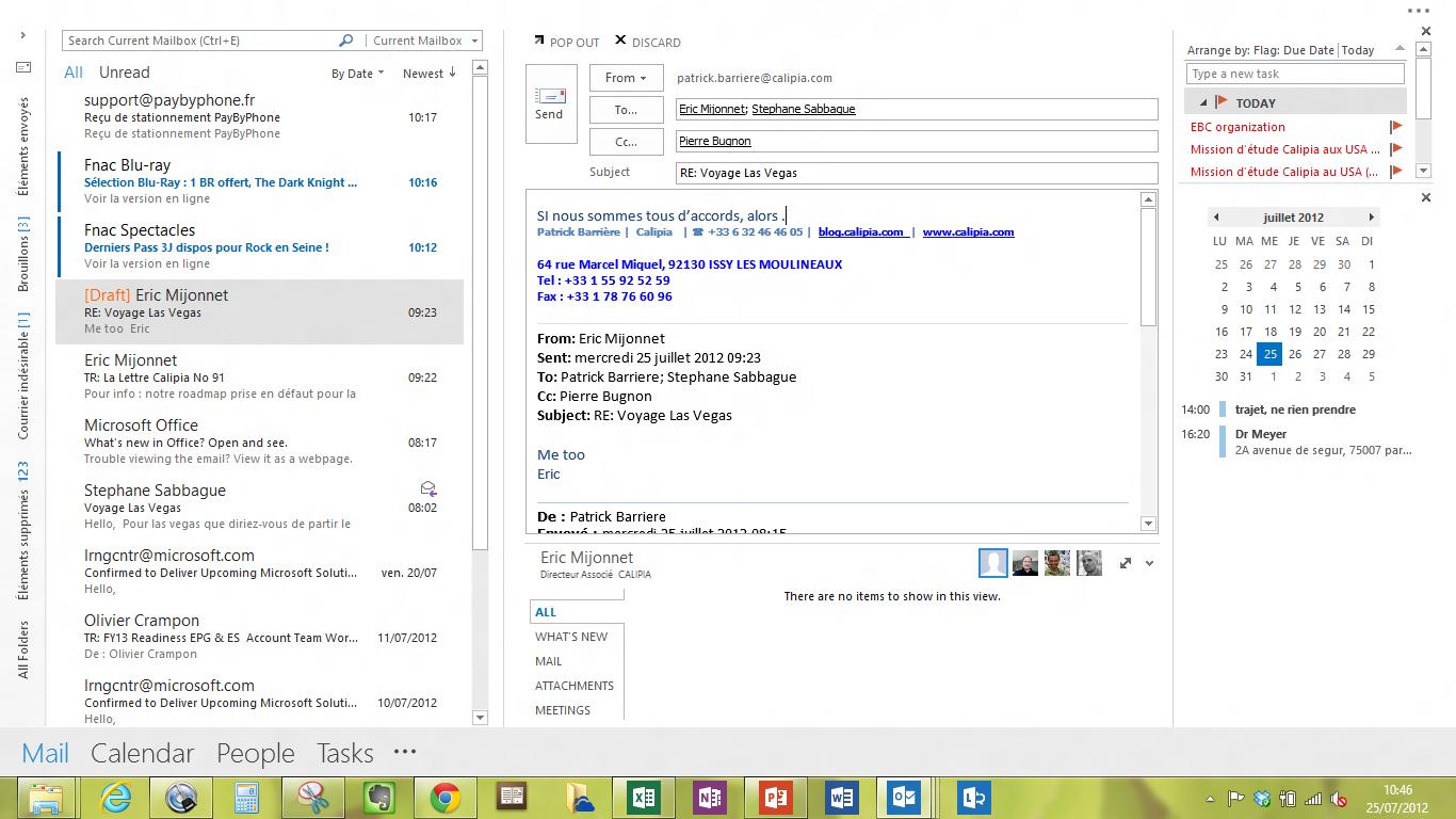 Une semaine avec office 2013 et windows 8 calipia le for Fenetre word 2013