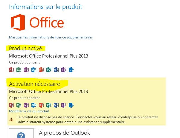 Activer Office 2016 facilement sans crack Blog2