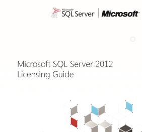 livre blanc licence sql server 2012