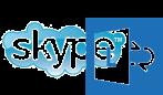 logo skype lync
