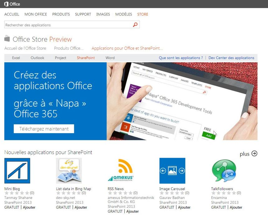 Office-Sharepoint-store
