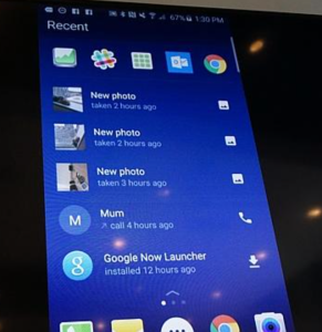 Lanceur Android Microsoft