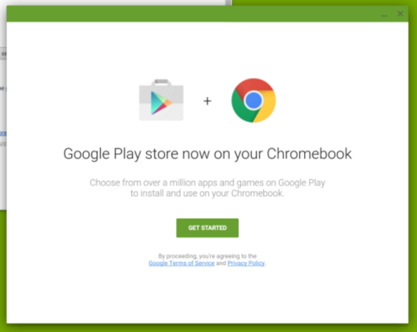 Play Store Chrome OS
