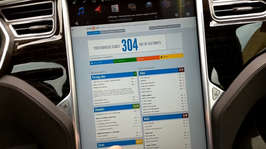 Tesla-browser
