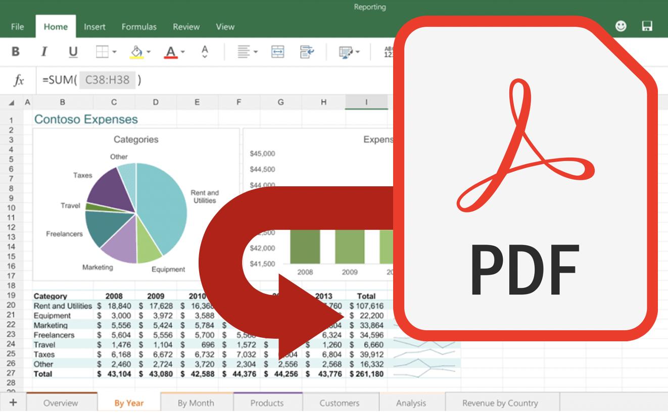 Excel PDF